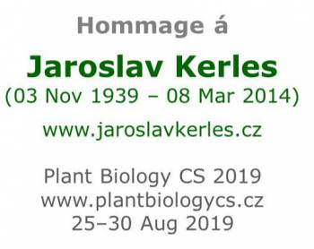 Homage to Jaroslav Kerles at the international conference of biologists